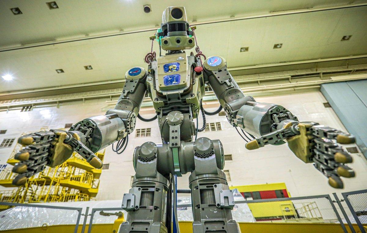Robot humanoide ruso llega al espacio y manda su primer tuit | El Imparcial de Oaxaca