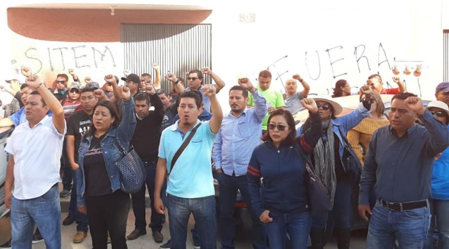 Sección 22 empaña asamblea del Sindicato Independiente de Trabajadores de la Educación de México | El Imparcial de Oaxaca