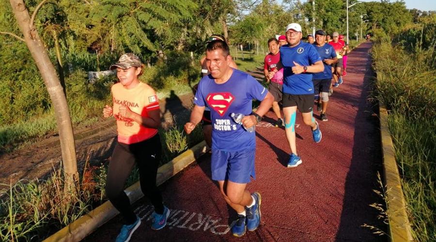 Cumple Vargas 37 Años y corre 37 km