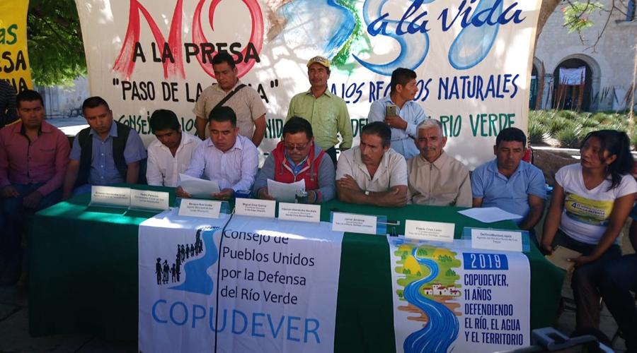 Autoridades de Sierra Sur y Costa rechazan proyecto hidroeléctrico | El Imparcial de Oaxaca