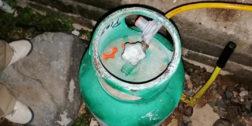 Quejas por cilindros de gas en mal estado en Salina Cruz