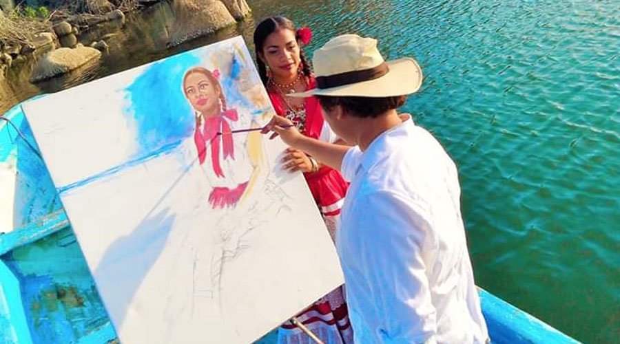 Artista tehuano busca pintar a la mujer tuxtepecana | El Imparcial de Oaxaca