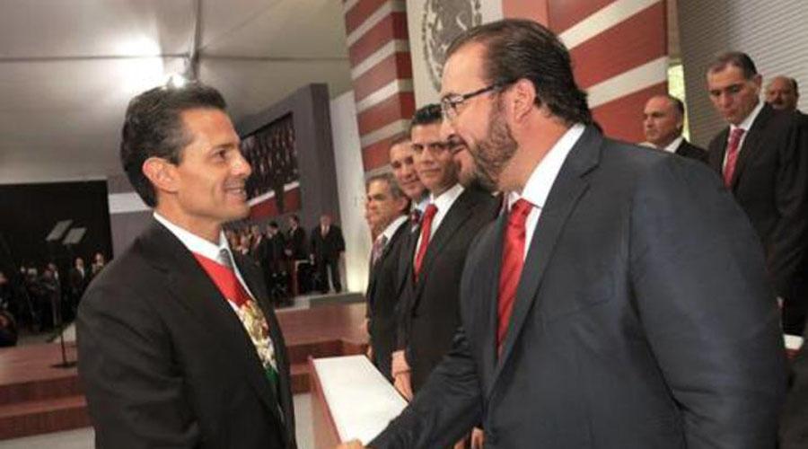 Fui 'caja china' del gobierno de Peña Nieto así lo afirma Javier Duarte | El Imparcial de Oaxaca