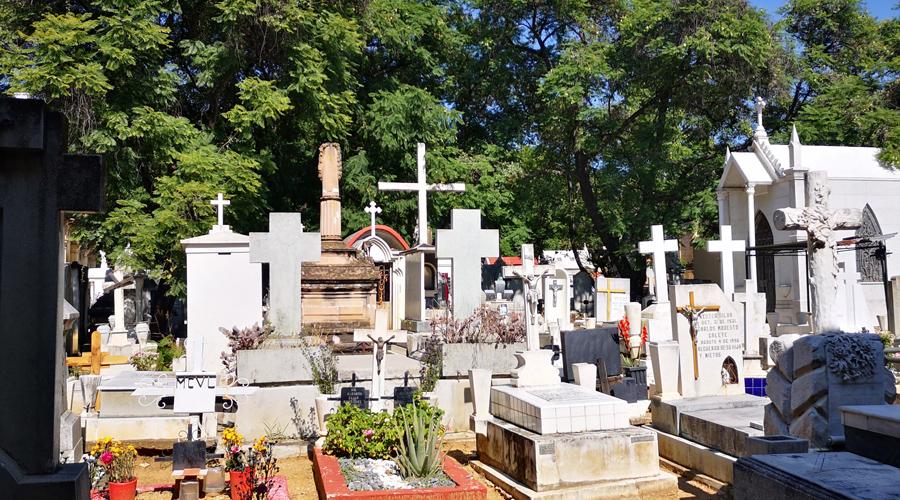 """Reabrirán """"ruinas"""" del Panteón General para el Día de Muertos"""