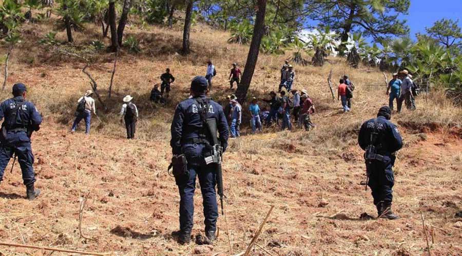 Son emboscados tras el incendio de cerro en la región Mixe de Oaxaca