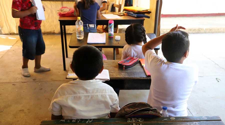 Sin avance, 72 por ciento de obra educativa; No hay escuelas, solo carpas en el Istmo