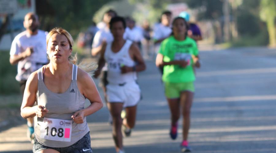 Se realizó la carrera atlética por el medio ambiente en San Jacinto Almilpas