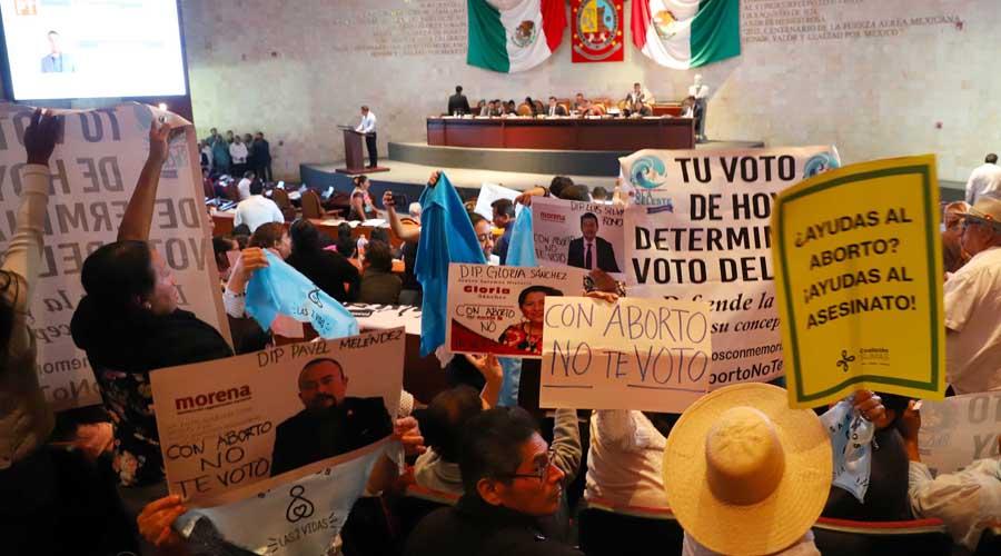 Es legal, aborto en Oaxaca