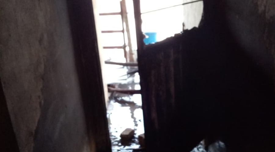 Arde casa habitación en la colonia del Bosque Sur