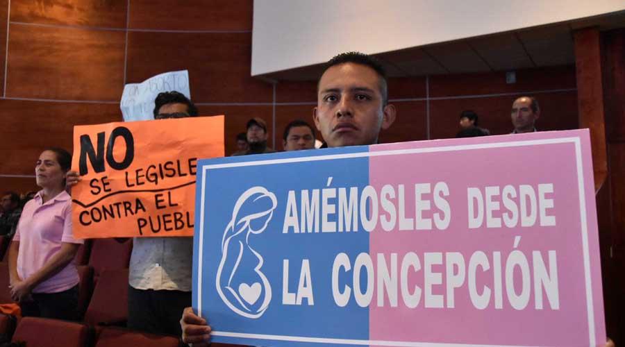Aborto legal o clandestino, la discusión en el Congreso de Oaxaca
