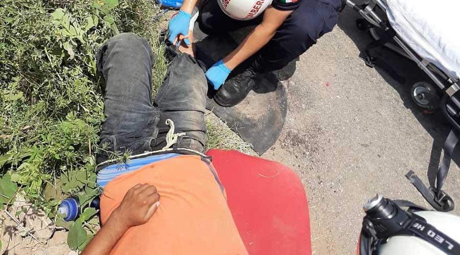 Ebrio conductor vuelca mototaxi en Juchitán | El Imparcial de Oaxaca