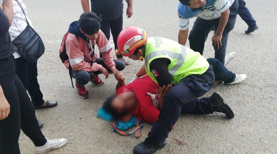 Grave luego de derrapar en fraccionamiento Esmeralda   El Imparcial de Oaxaca
