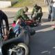 Derrapa estudiante del COBAO en Huajuapan