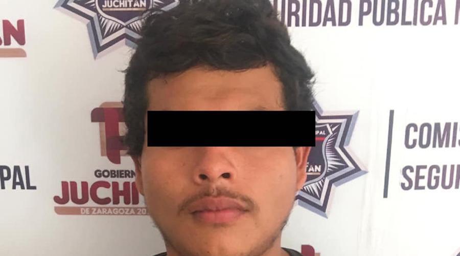 Les aseguran batería robada en Juchitán