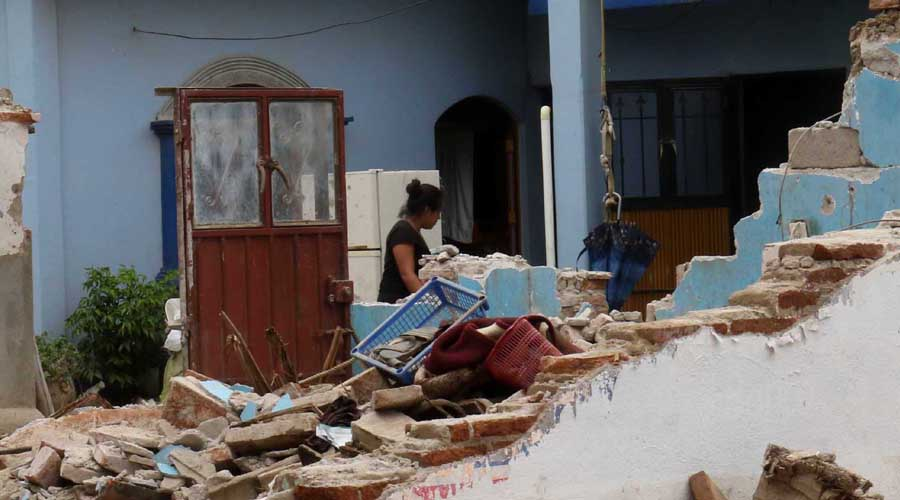 Difieren en cuatro mil casas cifra de reconstrucción en Oaxaca   El Imparcial de Oaxaca