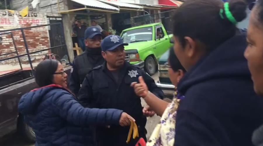 Desalojo de informales deja 14 lesionados en Nochixtlán
