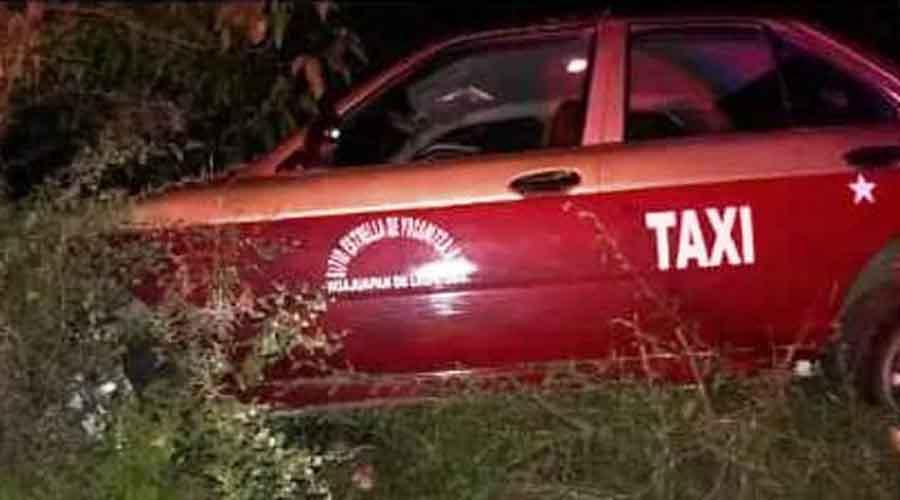 Asesinan a taxista en el tramo carretero Huajuapan a Mariscala de Juárez