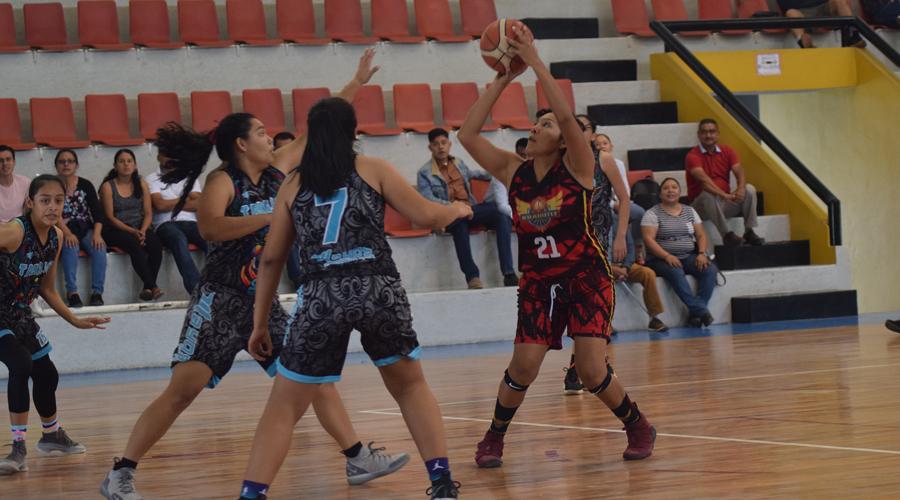 Se impone Oaxaca en la Liga Semiprofesional de Basquetbol Femenil 2019