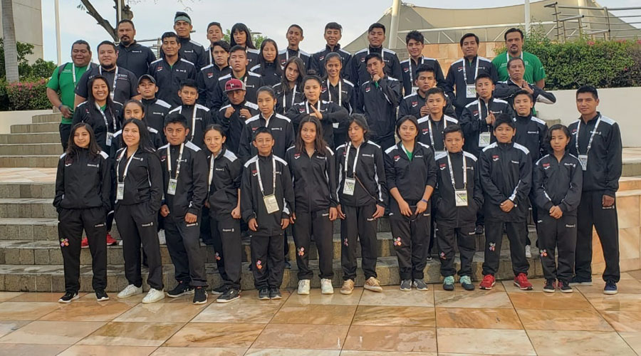 Oaxaca décimo lugar del medallero en los Juegos Nacionales Populares 2019