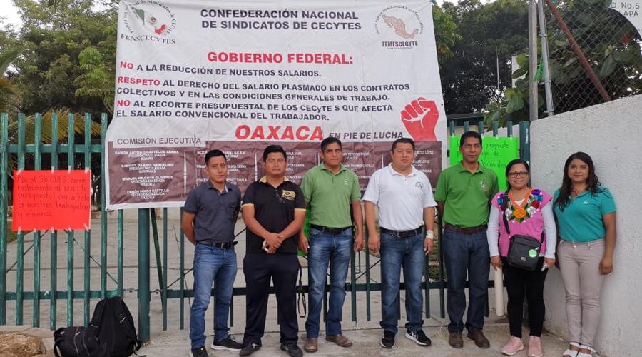 CECYTEO de la Costa, realizan paro laboral   El Imparcial de Oaxaca