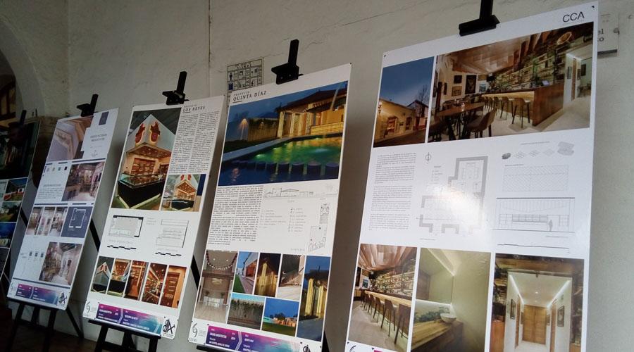 Colegio de arquitectos expone trabajos de bienal en la ciudad