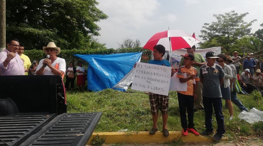 Continúa bloqueo ferroviario en Matías Romero | El Imparcial de Oaxaca