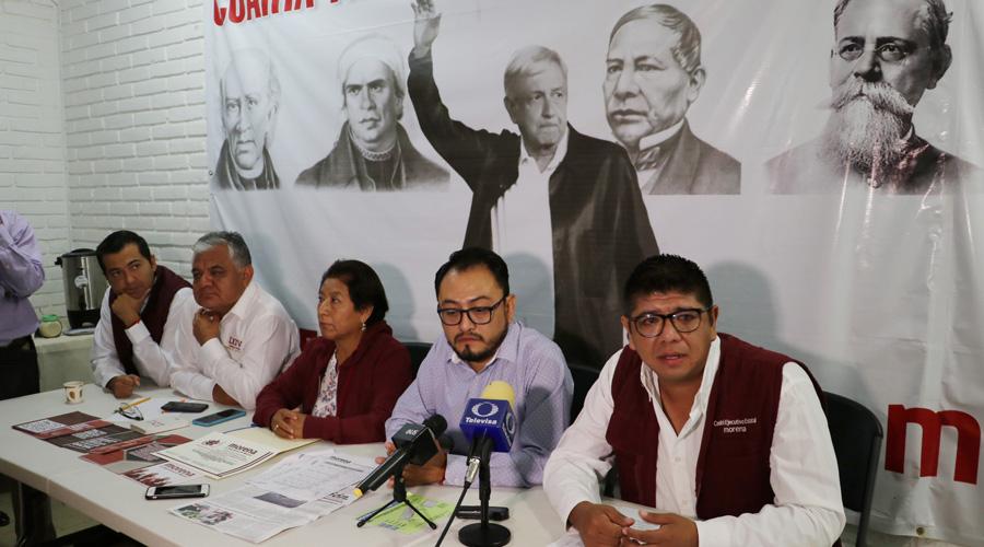 Denuncian en Morena intimidación y compra de votos en Oaxaca | El Imparcial de Oaxaca