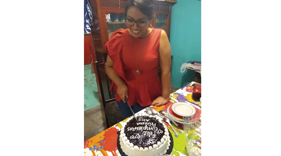 ¡Feliz cumple, Abigail! | El Imparcial de Oaxaca