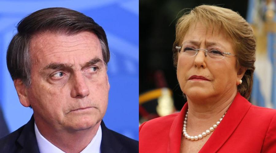 Tras críticas a su gobierno, Bolsonaro lanza polémicos comentarios contra Bachelet   El Imparcial de Oaxaca