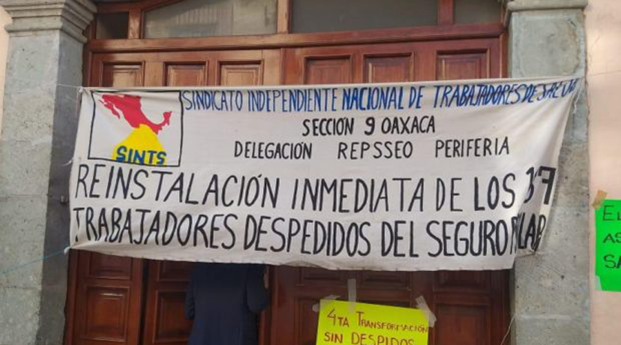 Por bloqueos a los Servicios de Salud de Oaxaca acumulan cargos a dirigente | El Imparcial de Oaxaca