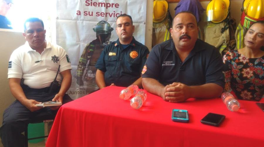 Impulsan apoyos desde Nueva York para los bomberos huajuapeños