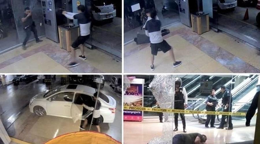 Quadratín: Balacera en Plaza Bugambilias de Cuernavaca; ejecutan a uno