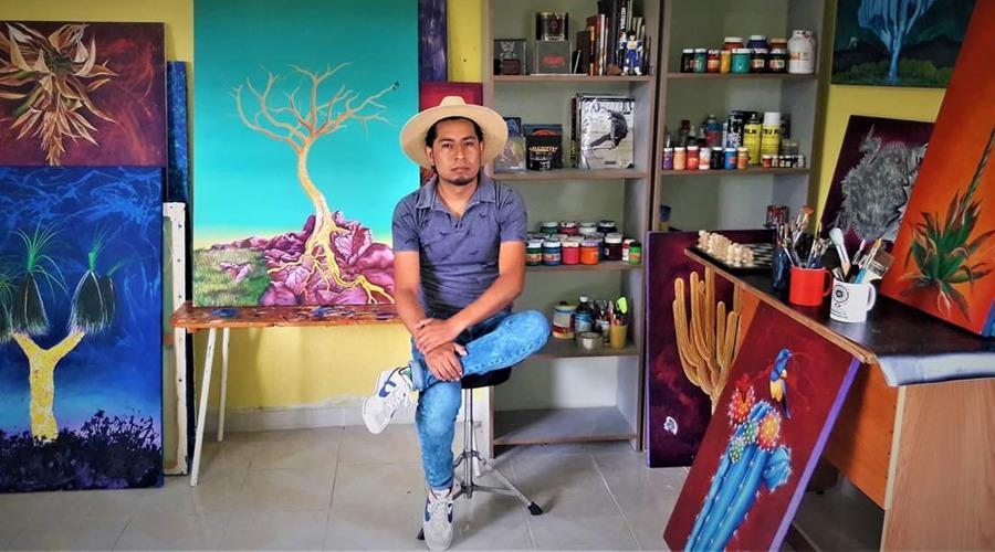 Flora y fauna de la región Mixteca hecha arte