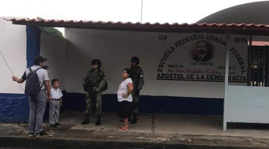 Ante presuntas amenazas de grupo delictivo blindan escuelas en Tuxtepec | El Imparcial de Oaxaca