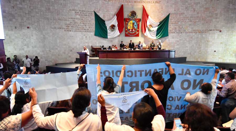 Avanza en el Congreso de Oaxaca despenalización del aborto | El Imparcial de Oaxaca