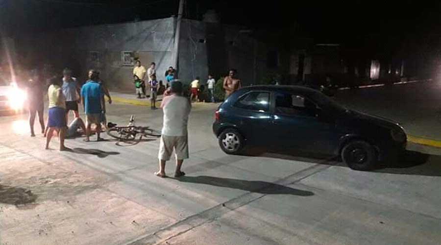 Embisten a ciclista en Tehuantepec | El Imparcial de Oaxaca