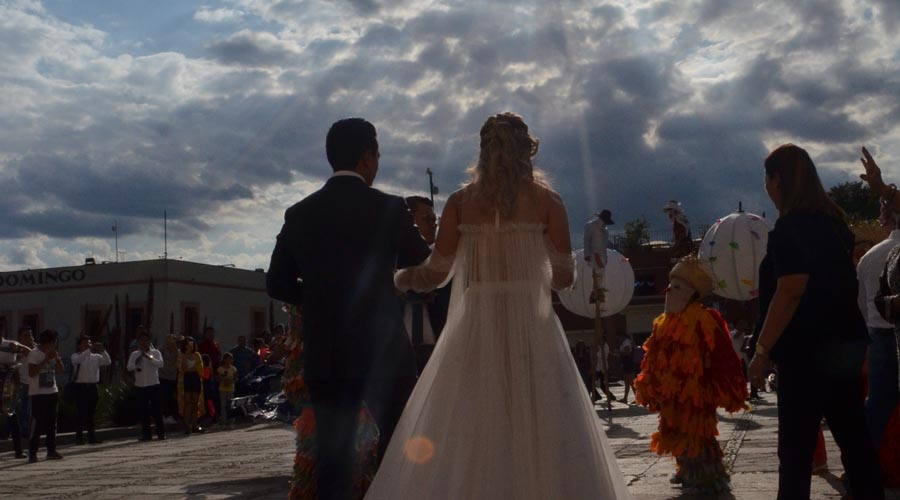 Josué y Beatriz se unieron en matrimonio