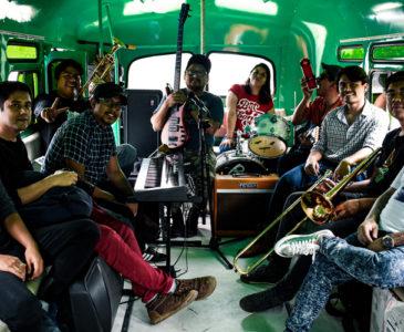 La Byt Band, visita las calles de Oaxaca
