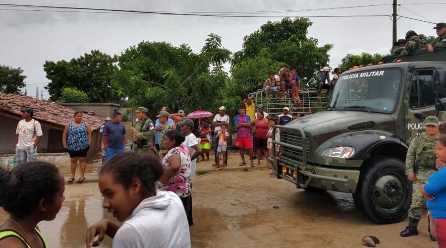 'Narda' pone en jaque a Oaxaca