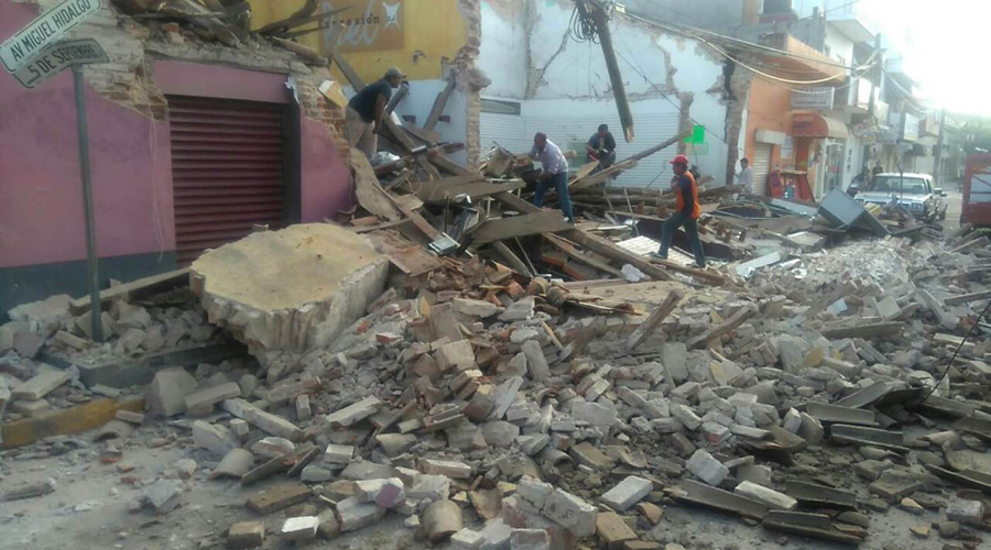 Reconstrucción no ha llegado en Oaxaca tras dos años de los sismos   El Imparcial de Oaxaca