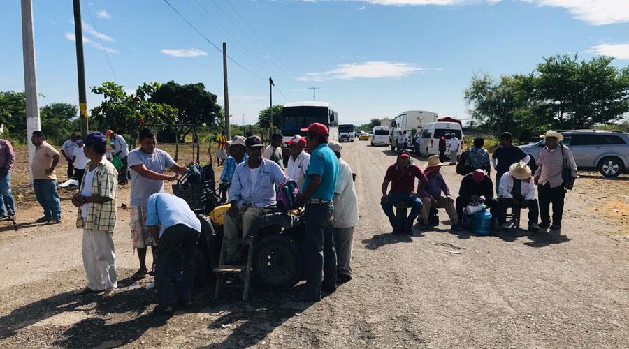 Pescadores exigen apoyos a Eólica del Sur en Juchitán
