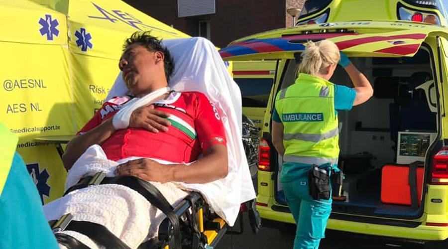 Paraciclista oaxaqueño sufre caída en Holanda | El Imparcial de Oaxaca