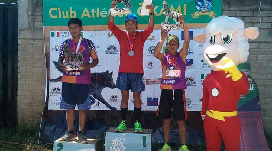 Gran aventura en el cuarto trail La Raya Zimatlán 2019