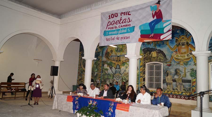 Realizarán encuentro 100 mil poetas por el cambio en Tlaxiaco