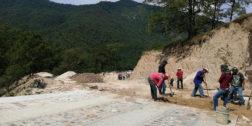 Reanudan pavimentación en Ixtayutla