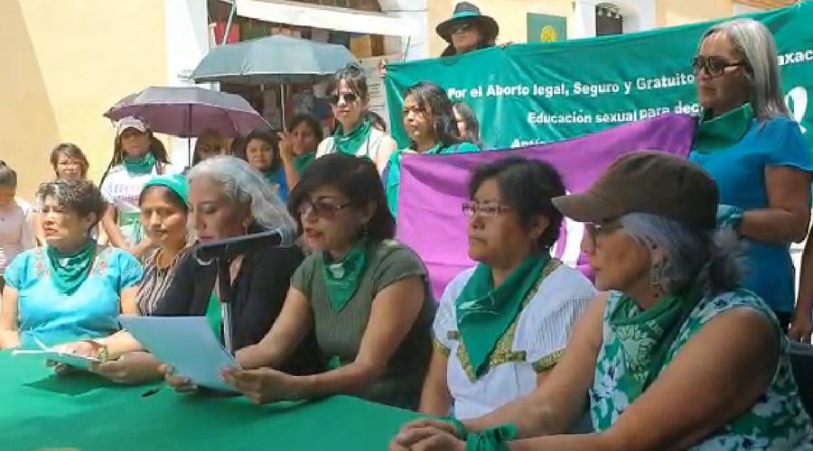 Grupos feministas dan conferencia sobre el tema del aborto en Oaxaca | El Imparcial de Oaxaca