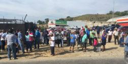 Se agudiza conflicto entre transportistas de Pinotepa Nacional