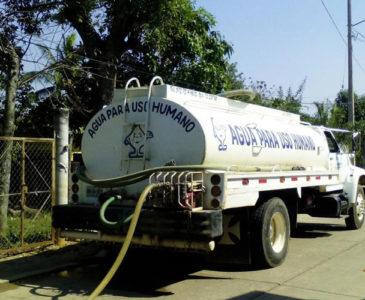Sin agua potable más de 10 mil habitantes del Istmo de Oaxaca