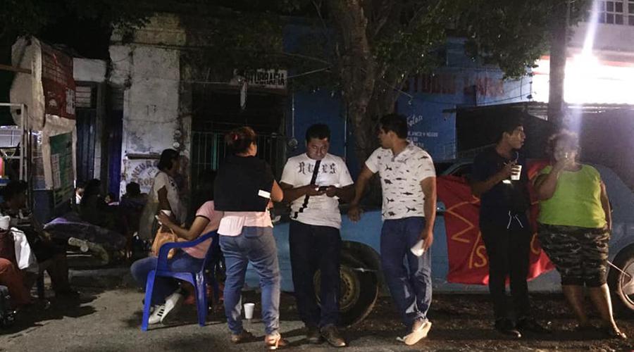 Denuncian desalojo con violencia en Salina Cruz