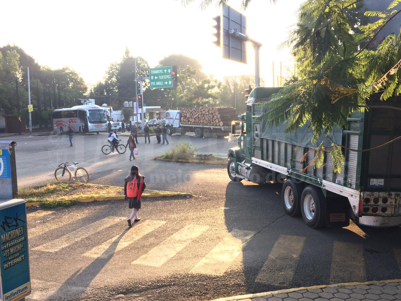 Ansiedad adelantada. Oaxaca duerme preocupada y despierta con bloqueos